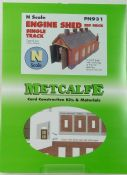 Metcalfe PN931 Red brick engine shed - half price!